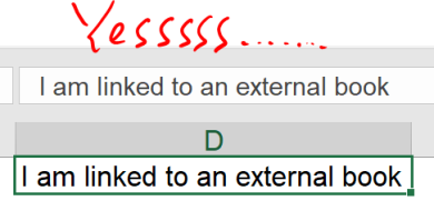 Excel Tip - Hide and Seek External Links5
