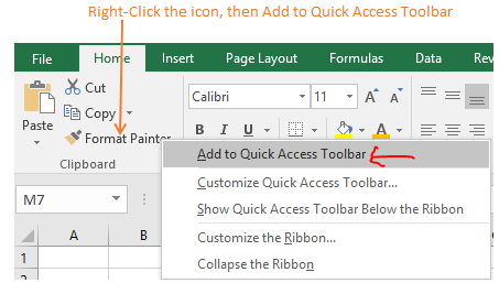 Excel tip - Customize shortcuts4