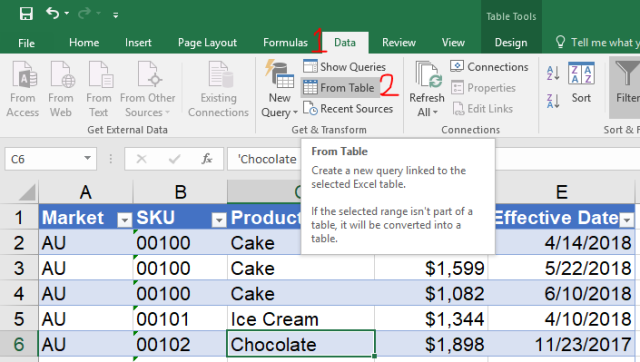 Excel Tip - Price Book with PQ2.0