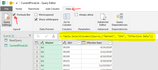 Excel Tip - Price Book with PQ3.3