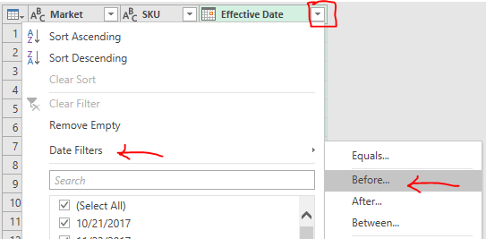 Excel Tip - Price Book with PQ3.4