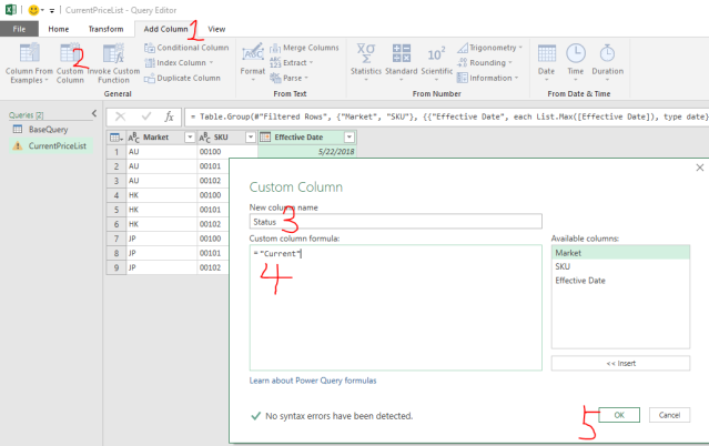 Excel Tip - Price Book with PQ4.3