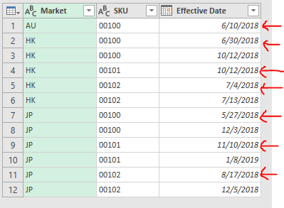 Excel Tip - Price Book with PQ5.1