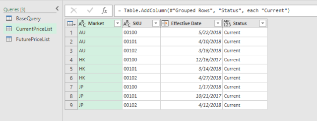Excel Tip - Price Book with PQ6.0