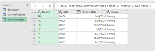 Excel Tip - Price Book with PQ6.1