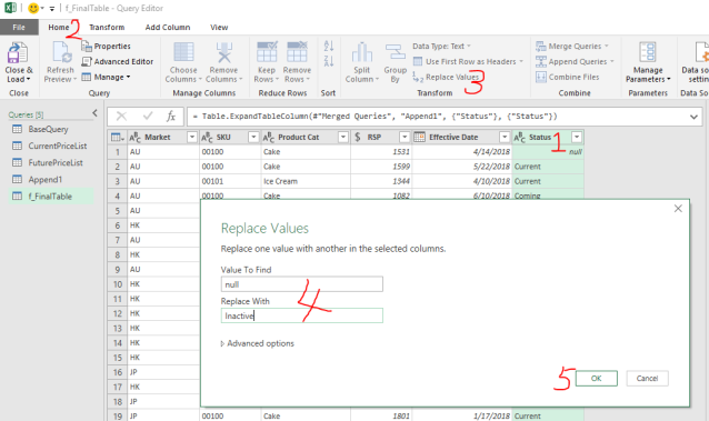 Excel Tip - Price Book with PQ7.7