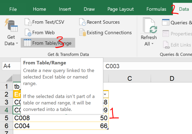 Excel Tip - Complicated vlookup with PQ1.0
