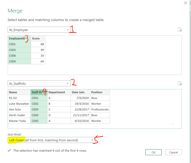 Excel Tip - Complicated vlookup with PQ3.1.