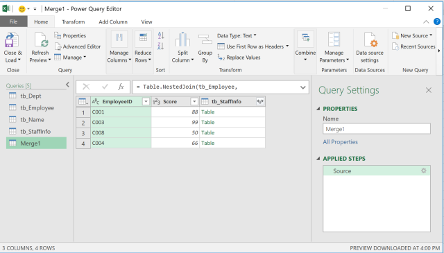 Excel Tip - Complicated vlookup with PQ3.2