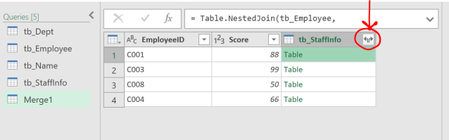 Excel Tip - Complicated vlookup with PQ3.3