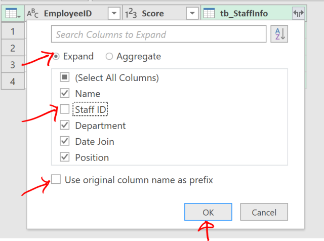 Excel Tip - Complicated vlookup with PQ3.4
