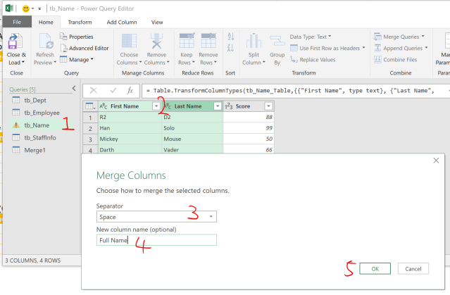 Excel Tip - Complicated vlookup with PQ4.1