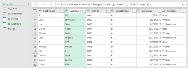 Excel Tip - Complicated vlookup with PQ4.6
