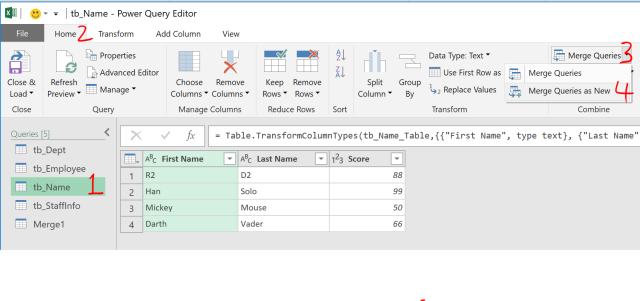 Excel Tip - Complicated vlookup with PQ4.7