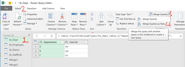Excel Tip - Complicated vlookup with PQ6.0