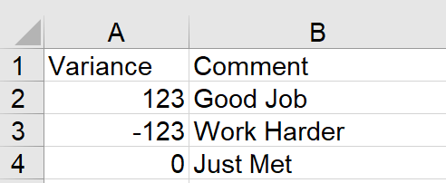 Excel Tip - Turn Numbers into Descriptives