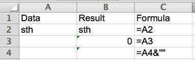 Excel Tip - Return nothing instead of 0