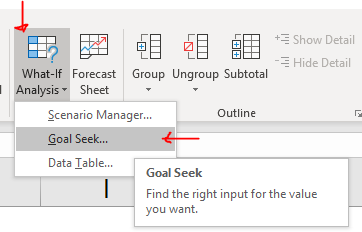 Excel Tips - Calculating CAGR with Goal Seek6