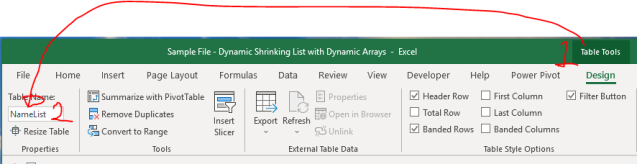 Excel Tips - Dynamic Shrinking List with Dynamic Arrays 3.1.PNG