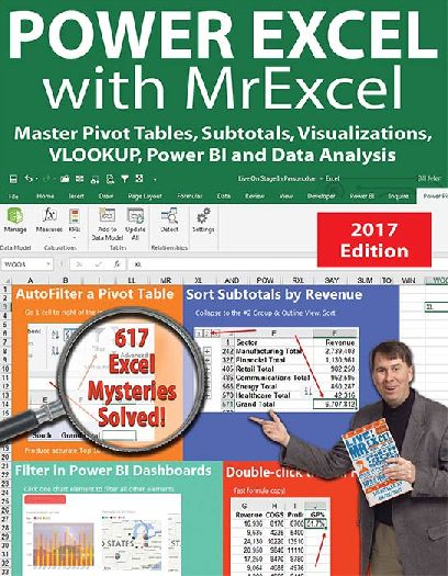 Power Excel with Mr. Excel 2017 Edition