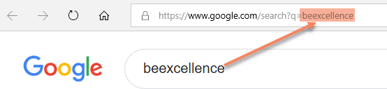 Excel Tip - Dynamic hyperlink to google search2