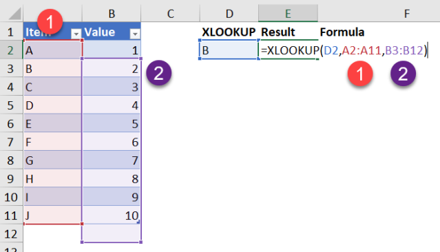 Excel Tip - Be cautious when using XLOOKUP2