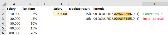 Excel Tip - Be cautious when using XLOOKUP6