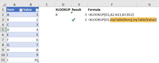 Excel Tip - Be cautious when using XLOOKUP7