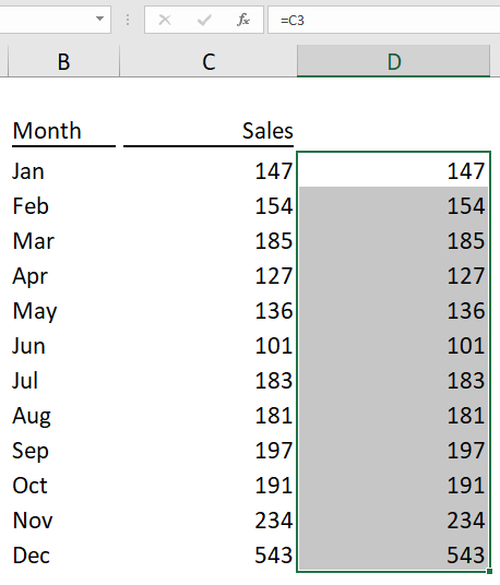 Excel Tip - Create in-cell bar with conditional formatting_2