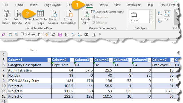 Excel Tip - Power Query Challenge by MrExcel2