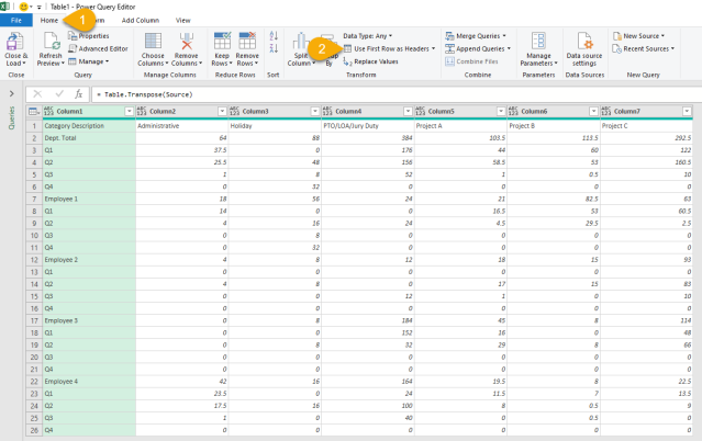 Excel Tip - Power Query Challenge by MrExcel4