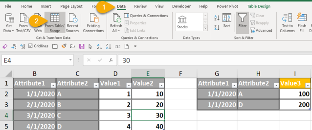 Excel Tip - Power Query Full Outer Join Revisit 1