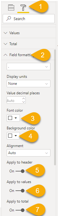Power BI Trick - Insert Blank Column8