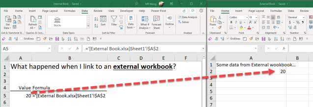 Excel Tip - External links1