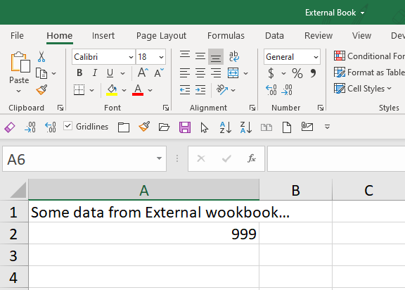 Excel Tip - External links3